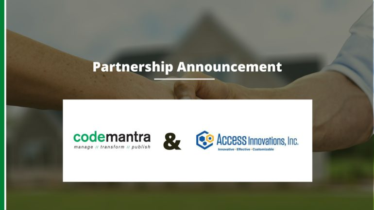codemantra and access innovation partnership
